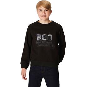 Regatta Breck Bluzka z długim rękawem Chłopcy, black